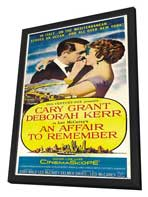 An Affair to Remember - 27 x 40 Movie Poster - Style B - in Deluxe Wood Frame