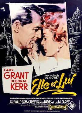 An Affair to Remember - 27 x 40 Movie Poster - Italian Style A