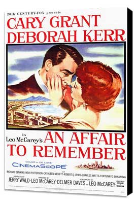 An Affair to Remember - 11 x 17 Movie Poster - Style A - Museum Wrapped Canvas