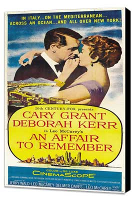 An Affair to Remember - 11 x 17 Movie Poster - Style C - Museum Wrapped Canvas