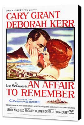 An Affair to Remember - 27 x 40 Movie Poster - Style A - Museum Wrapped Canvas