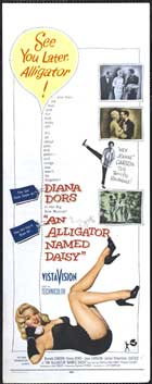 An Alligator Named Daisy - 14 x 36 Movie Poster - Insert Style A