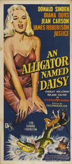 An Alligator Named Daisy - 13 x 30 Movie Poster - Australian Style A