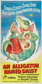 An Alligator Named Daisy - 20 x 40 Movie Poster - UK Style A