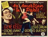An American in Paris - 22 x 28 Movie Poster - Half Sheet Style A