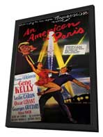 An American in Paris - 11 x 17 Movie Poster - Style B - in Deluxe Wood Frame