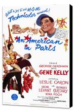 An American in Paris - 11 x 17 Movie Poster - Style A - Museum Wrapped Canvas