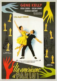 An American in Paris - 11 x 17 Movie Poster - Italian Style A