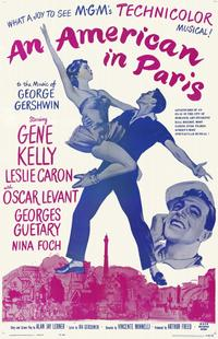 An American in Paris - 11 x 17 Movie Poster - Style E