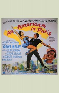An American in Paris - 11 x 17 Movie Poster - Style D