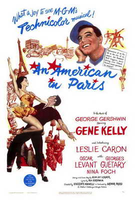 An American in Paris - 27 x 40 Movie Poster - Style A