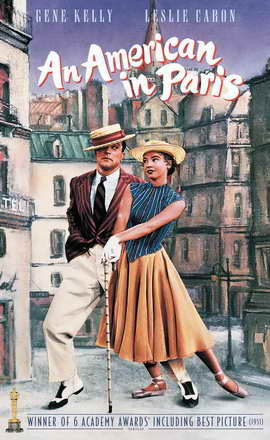 An American in Paris - 11 x 17 Movie Poster - Style F