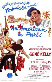 An American in Paris - 43 x 62 Movie Poster - Bus Shelter Style A