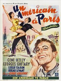 An American in Paris - 27 x 40 Movie Poster - Belgian Style A