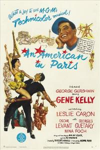 An American in Paris - 27 x 40 Movie Poster - Style B
