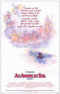 An American Tail - 11 x 17 Movie Poster - Style B