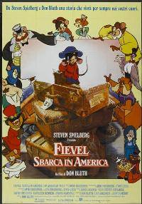 An American Tail - 11 x 17 Movie Poster - Italian Style A
