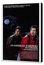 An American Werewolf in London - 27 x 40 Movie Poster - Style A - Museum Wrapped Canvas