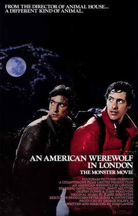 An American Werewolf in London - 11 x 17 Movie Poster - Style A