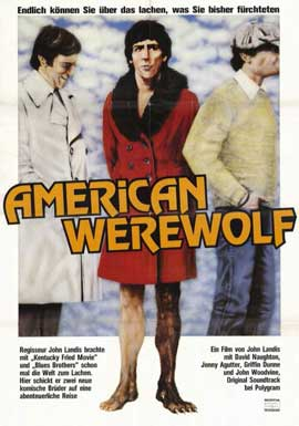 An American Werewolf in London - 11 x 17 Movie Poster - German Style A
