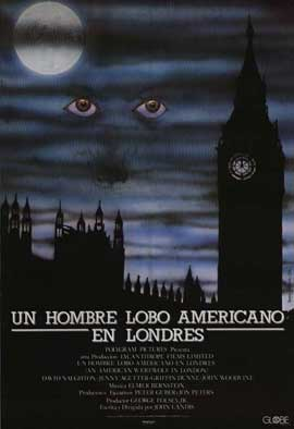 An American Werewolf in London - 11 x 17 Movie Poster - Spanish Style A