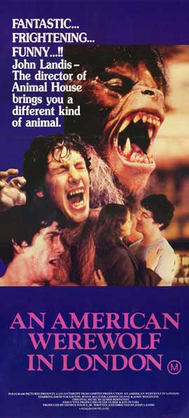 An American Werewolf in London - 11 x 17 Movie Poster - Australian Style A