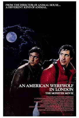 An American Werewolf in London - 27 x 40 Movie Poster - Style A