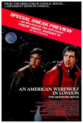 An American Werewolf in London - 27 x 40 Movie Poster - Style C