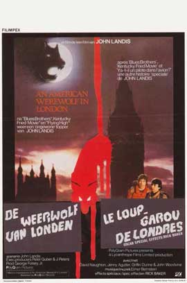 An American Werewolf in London - 11 x 17 Movie Poster - Belgian Style A