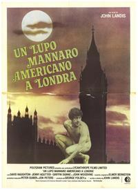 An American Werewolf in London - 43 x 62 Poster - Foreign - Bus Shelter Style A