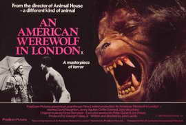 An American Werewolf in London - 27 x 40 Movie Poster - Style B