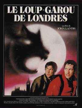 An American Werewolf in London - 11 x 17 Movie Poster - French Style A