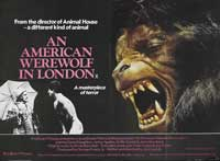An American Werewolf in London - 30 x 40 Movie Poster UK - Style A
