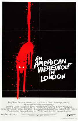 An American Werewolf in London - 11 x 17 Movie Poster - Style C