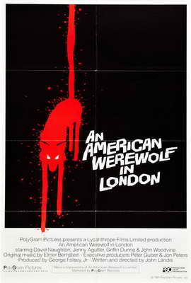 An American Werewolf in London - 27 x 40 Movie Poster - Style G