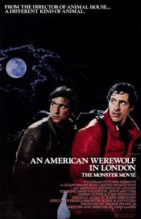 An American Werewolf in London - 11 x 17 Movie Poster - Style A - Museum Wrapped Canvas