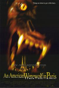 An American Werewolf in Paris - 27 x 40 Movie Poster - Style C