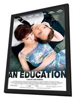 An Education - 11 x 17 Movie Poster - Style A - in Deluxe Wood Frame