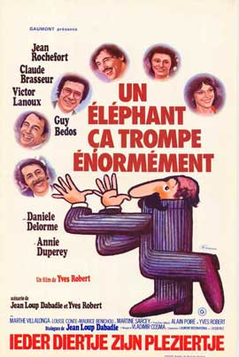 An Elephant Can Be Extremely Deceptive - 11 x 17 Movie Poster - Belgian Style A
