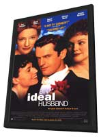 An Ideal Husband - 11 x 17 Movie Poster - Style A - in Deluxe Wood Frame
