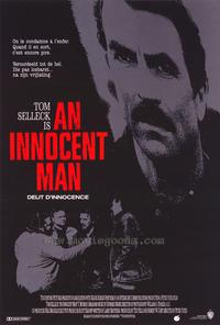 An Innocent Man - 11 x 17 Movie Poster - Belgian Style A