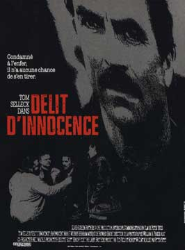 An Innocent Man - 11 x 17 Movie Poster - French Style A