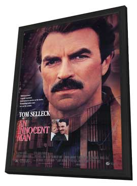 An Innocent Man - 11 x 17 Movie Poster - Style A - in Deluxe Wood Frame