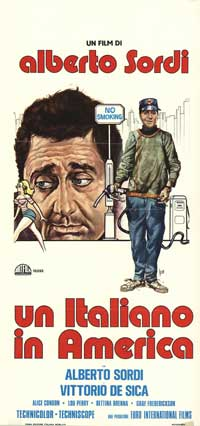 An Italian in America - 13 x 28 Movie Poster - Italian Style A
