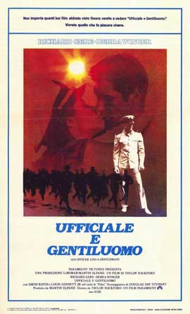 An Officer and a Gentleman - 11 x 17 Movie Poster - Italian Style A