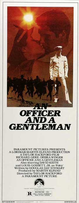 An Officer and a Gentleman - 14 x 36 Movie Poster - Insert Style A