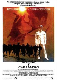 An Officer and a Gentleman - 43 x 62 Movie Poster - Spanish Style B