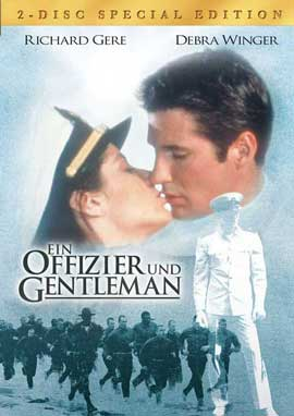 An Officer and a Gentleman - 27 x 40 Movie Poster - German Style A