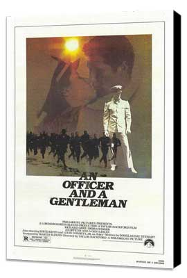An Officer and a Gentleman - 27 x 40 Movie Poster - Style A - Museum Wrapped Canvas