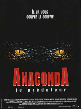 Anaconda - 11 x 17 Movie Poster - French Style A